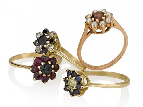 טבעת דיאנה קלאסית במגוון שיבוצים
