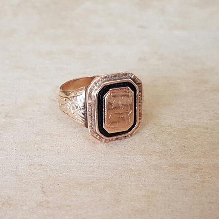 טבעת חותמת לגבר או לאישה