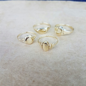 small sign rings